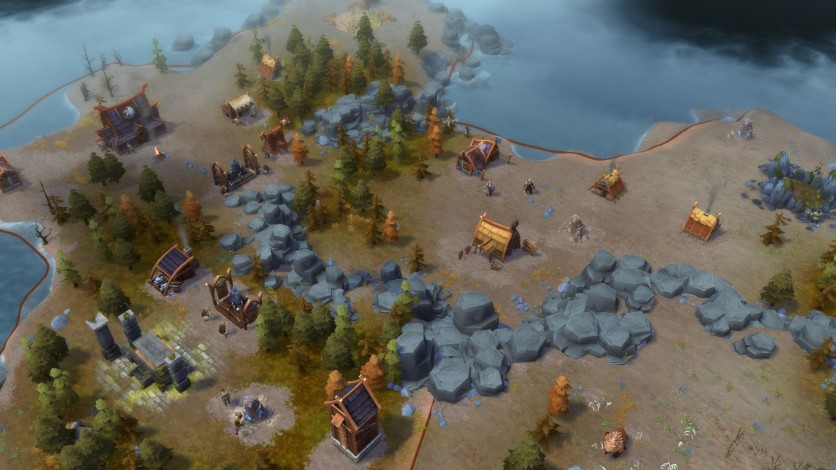 Screenshot 6 - Northgard - Lyngbakr, Clan of the Kraken