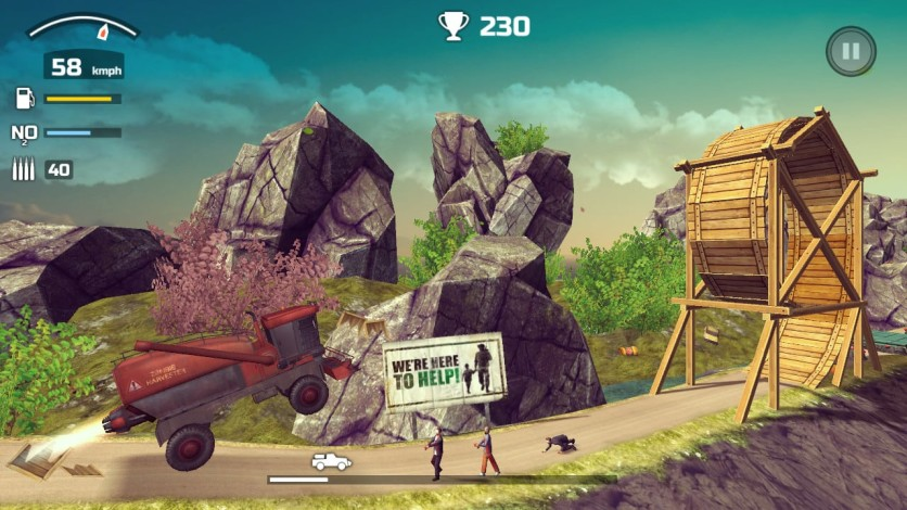 Screenshot 2 - Zombie Derby 2