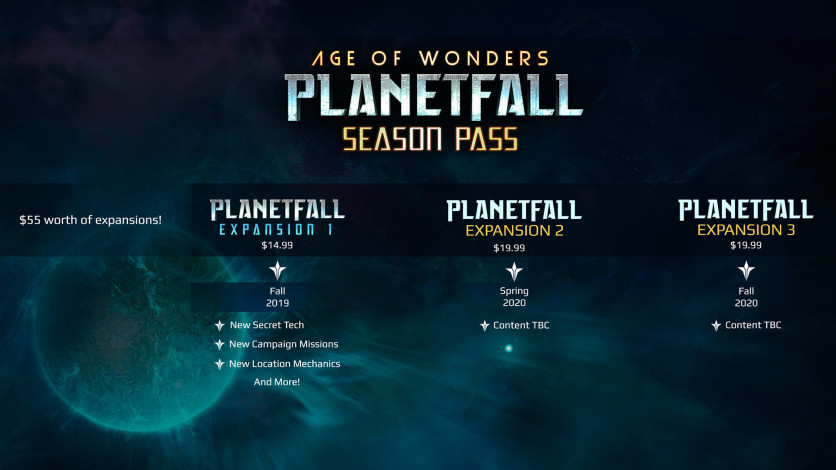 Screenshot 1 - Age of Wonders: Planetfall - Season Pass