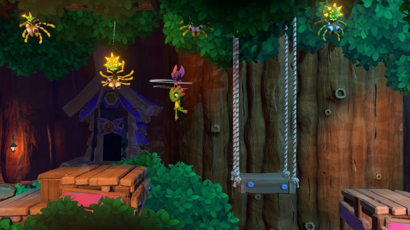 Screenshot 2 - Yooka-Laylee and the Impossible Lair