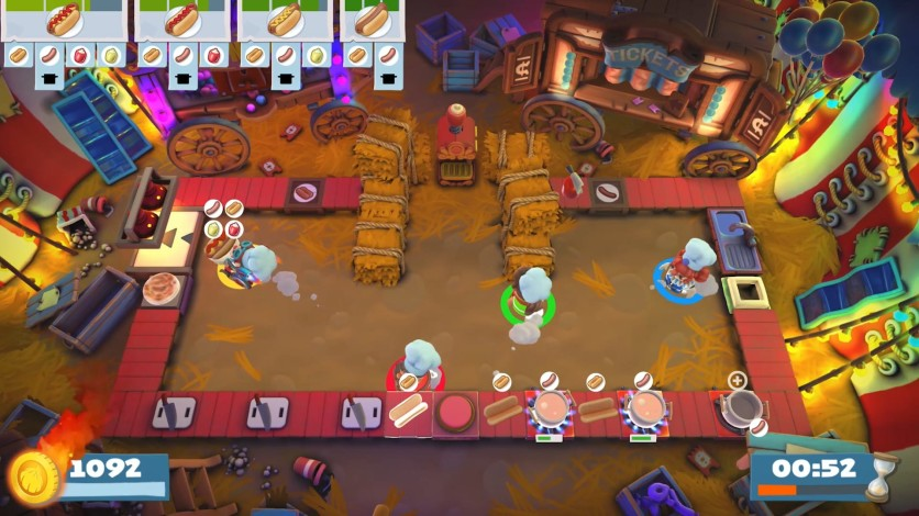 Screenshot 4 - Overcooked! 2 - Carnival of Chaos