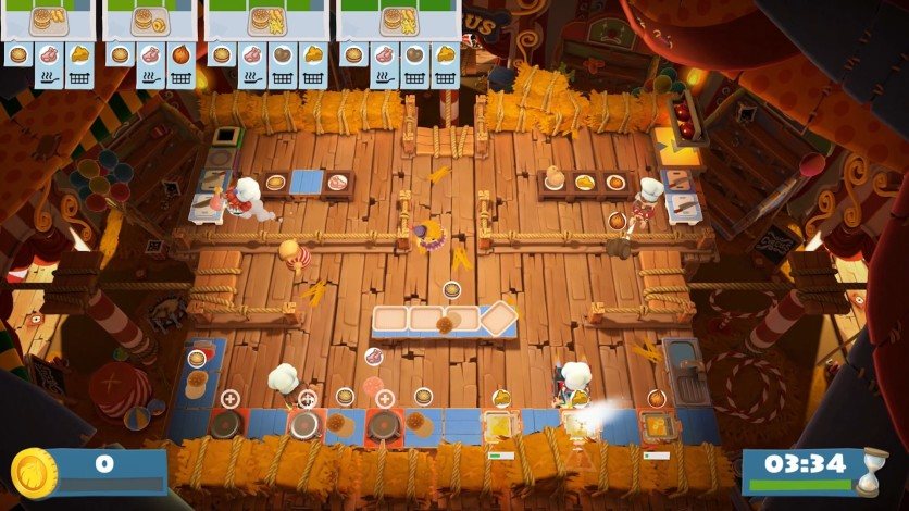 Screenshot 7 - Overcooked! 2 - Carnival of Chaos