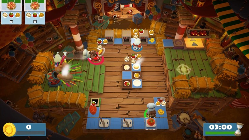 Screenshot 6 - Overcooked! 2 - Carnival of Chaos