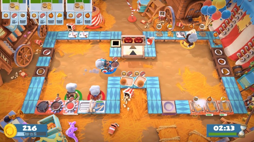 Screenshot 5 - Overcooked! 2 - Carnival of Chaos