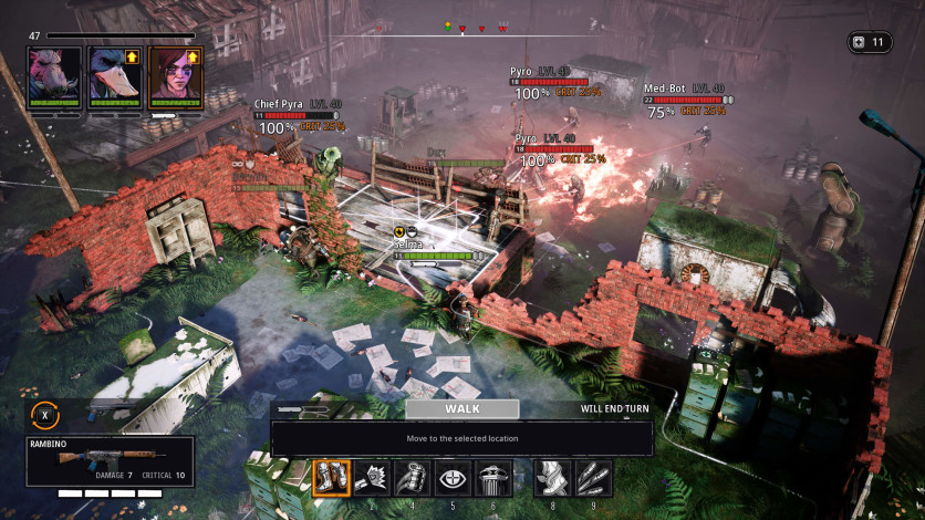 Screenshot 3 - Mutant Year Zero: Road to Eden