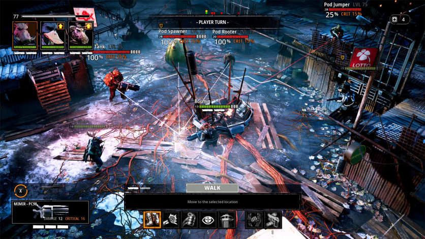 Screenshot 3 - Mutant Year Zero: Seed of Evil