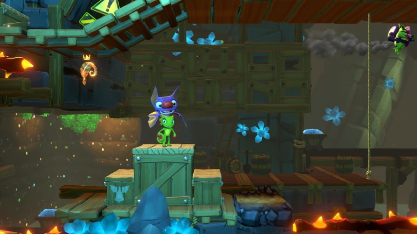Screenshot 3 - Yooka-Laylee and the Impossible Lair - Trowzer's Top Tonic Pack