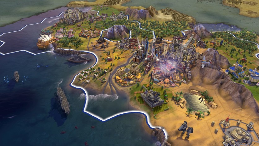 Screenshot 1 - Sid Meier's Civilization VI - Platinum Edition