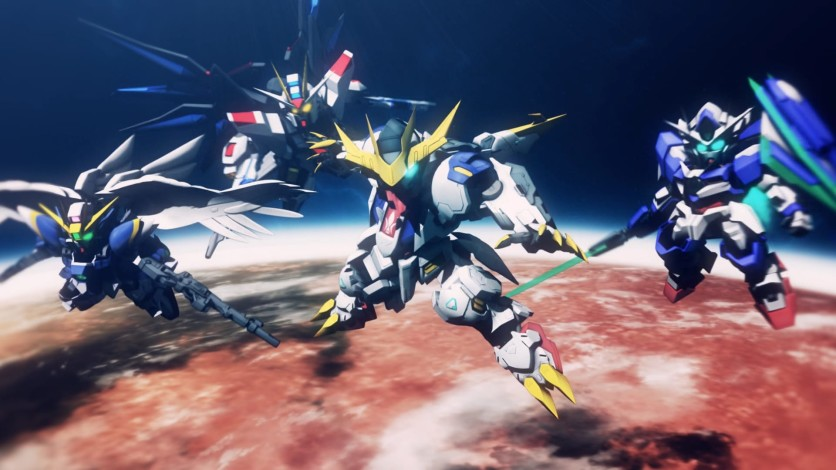 Screenshot 2 - SD GUNDAM G GENERATION CROSS RAYS - DELUXE EDITION