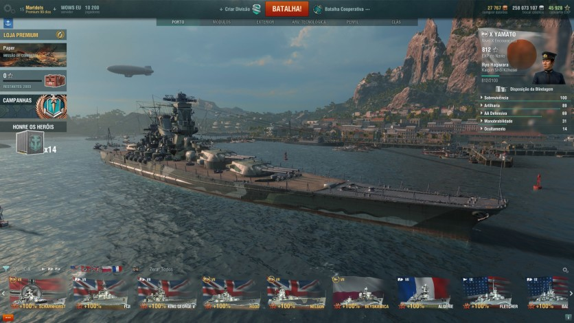 World of Warships - PC - Buy it at Nuuvem