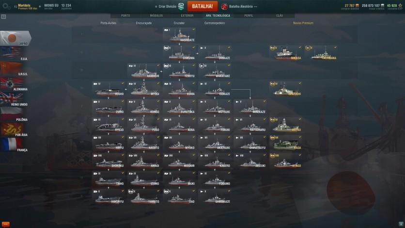 Screenshot 9 - World of Warships - Premium Pack