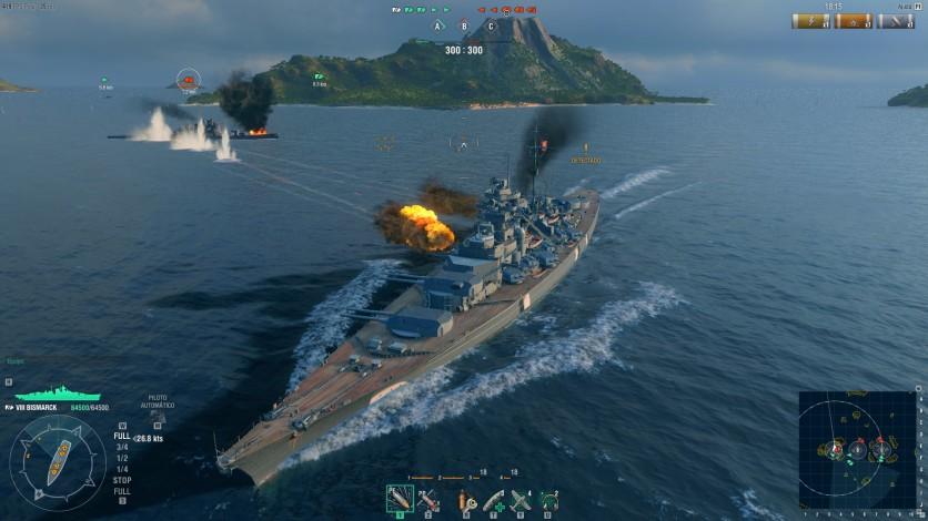 Screenshot 17 - World of Warships - Premium Pack