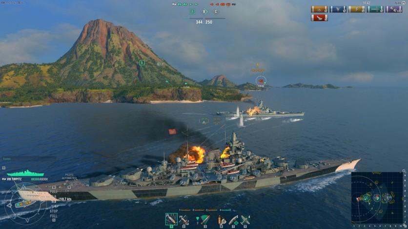 Screenshot 6 - World of Warships - Premium Pack