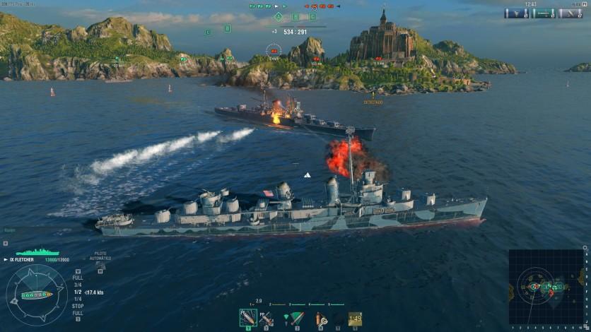Screenshot 8 - World of Warships - Premium Pack