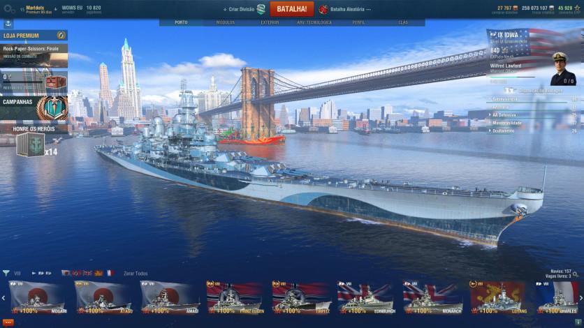 Screenshot 13 - World of Warships - Premium Pack
