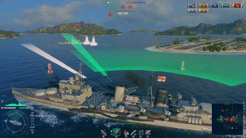 Screenshot 7 - World of Warships - Premium Pack