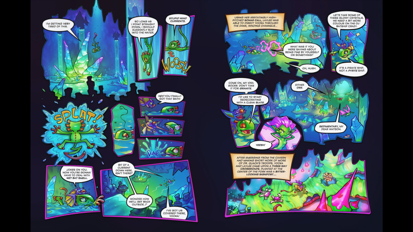 Screenshot 1 - Yooka-Laylee and the Kracklestone - Graphic Novel