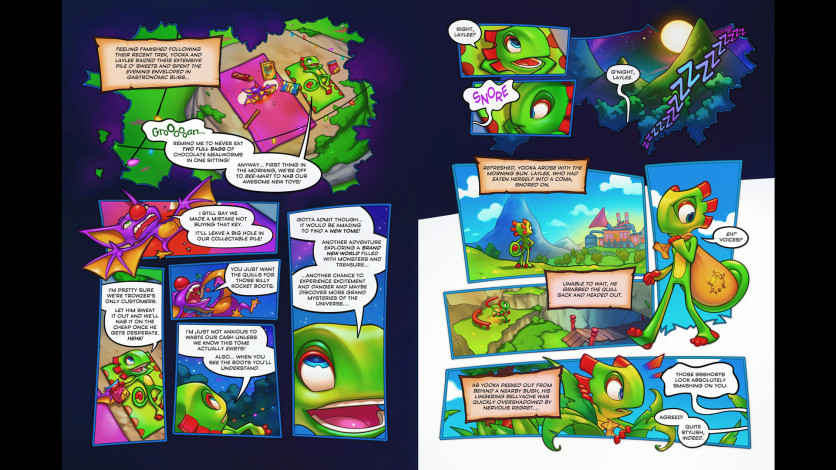 Screenshot 2 - Yooka-Laylee and the Kracklestone - Graphic Novel