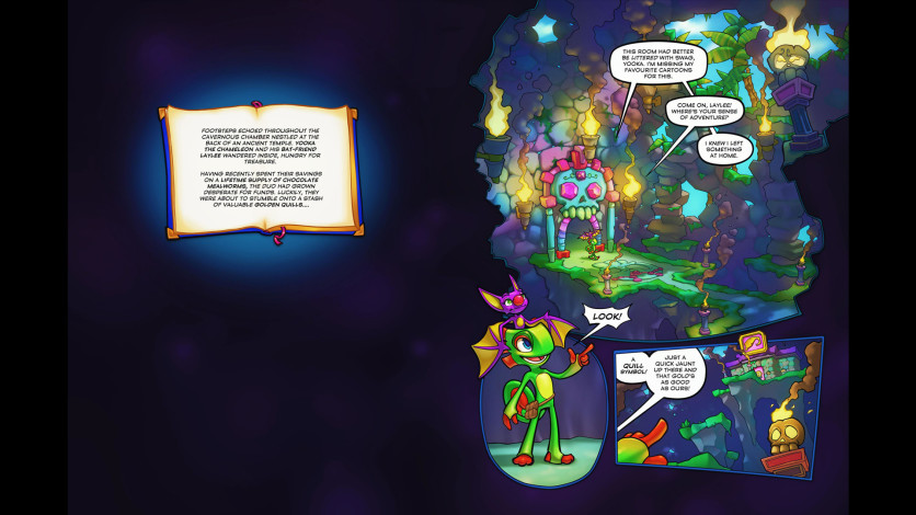 Screenshot 3 - Yooka-Laylee and the Kracklestone - Graphic Novel