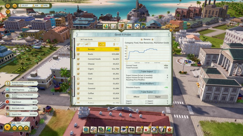 Screenshot 4 - Tropico 6 - The Llama of Wall Street