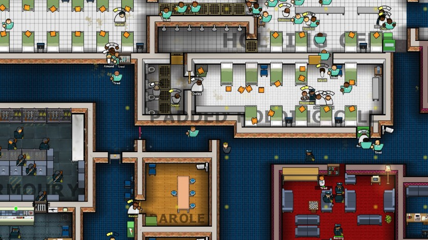 Screenshot 7 - Prison Architect - Psych Ward: Warden's Edition