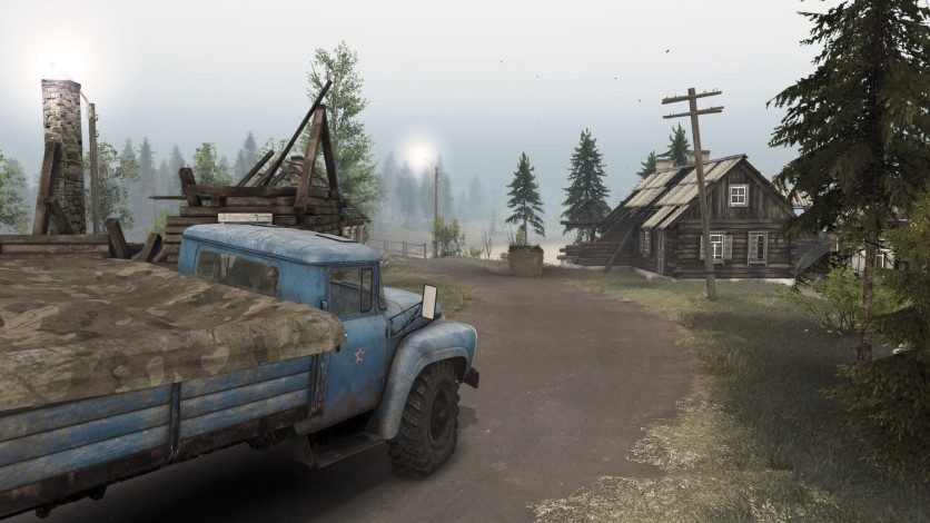 Screenshot 3 - Spintires - Aftermath