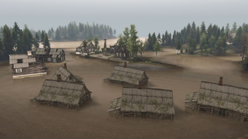 Screenshot 2 - Spintires - Aftermath