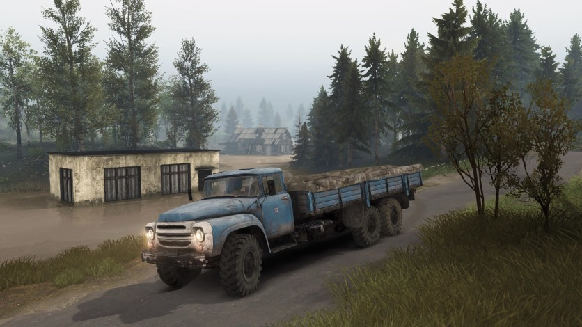 Screenshot 4 - Spintires - Aftermath