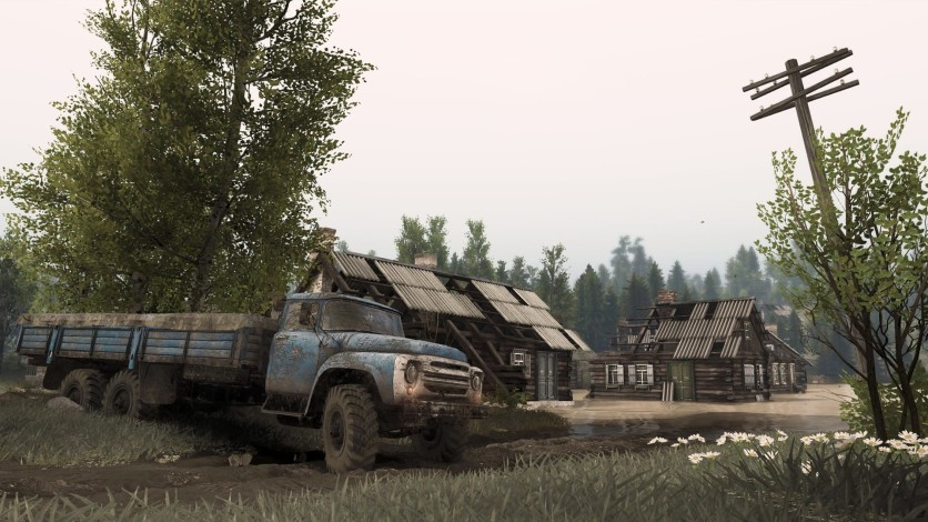 Screenshot 6 - Spintires - Aftermath