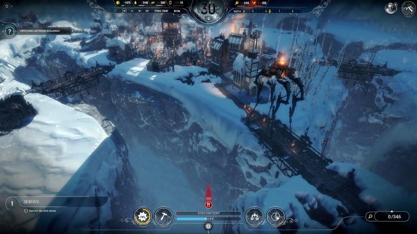 Screenshot 1 - Frostpunk: The Rifts