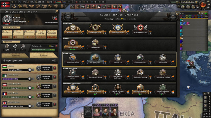 Screenshot 7 - Hearts of Iron IV: La Résistance