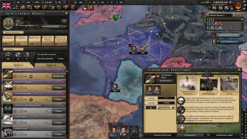 Screenshot 4 - Hearts of Iron IV: La Résistance