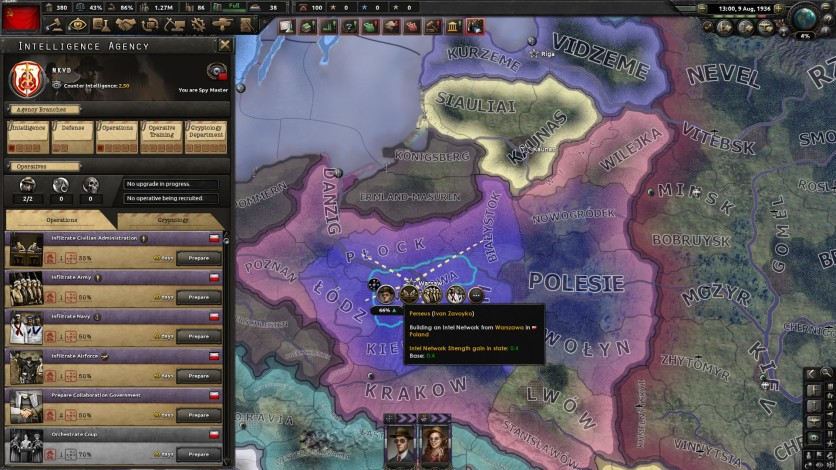 Screenshot 3 - Hearts of Iron IV: La Résistance