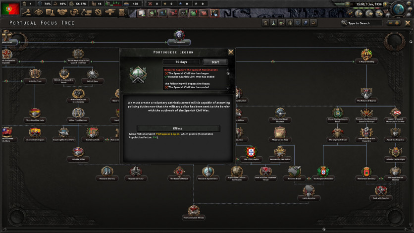 Screenshot 6 - Hearts of Iron IV: La Résistance