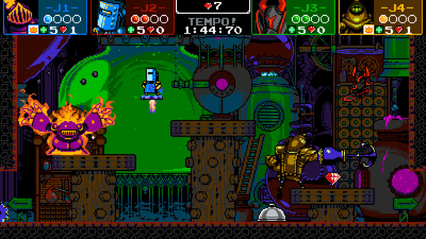 Screenshot 3 - Shovel Knight Showdown