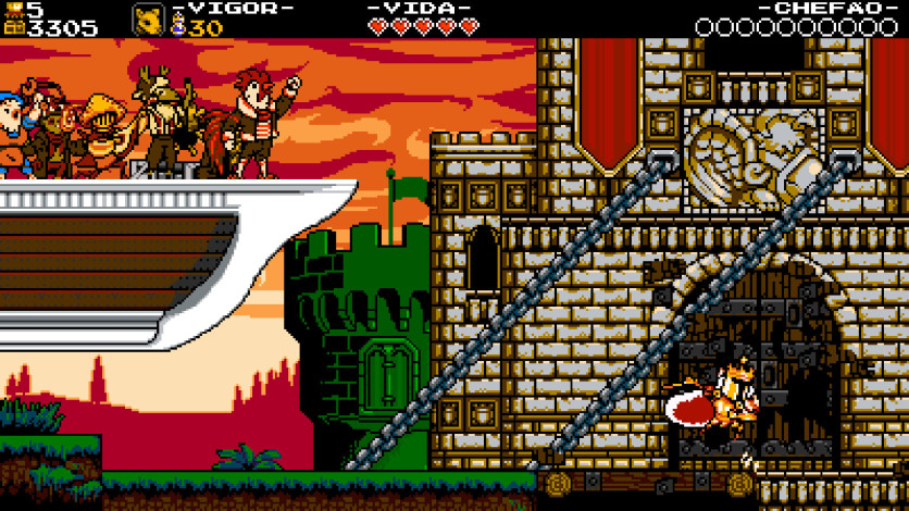 Screenshot 1 - Shovel Knight: King of Cards