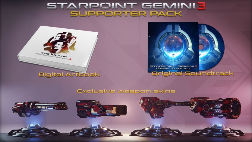 Screenshot 1 - Starpoint Gemini 3 - Supporter Pack