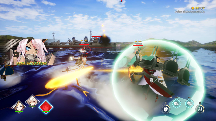 Screenshot 2 - Azur Lane: Crosswave