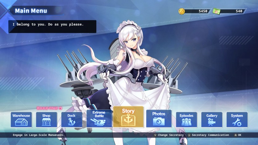 Screenshot 26 - Azur Lane: Crosswave