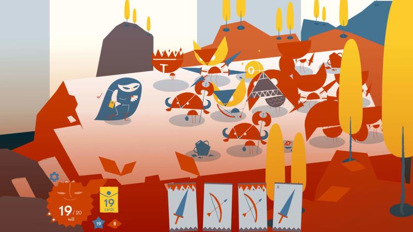 Screenshot 6 - Iris and the Giant: Card Deck Roguelike