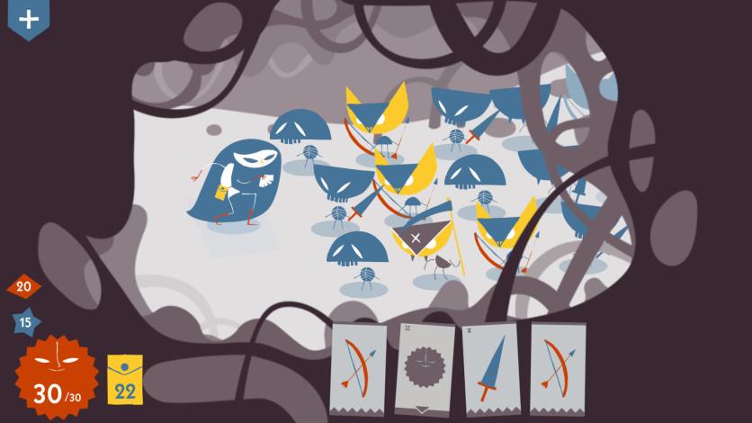 Screenshot 2 - Iris and the Giant: Card Deck Roguelike