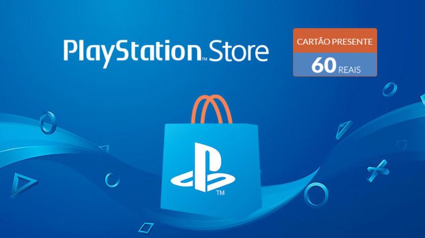 Screenshot 1 - PlayStation Store - Virtual Card 60 Reais