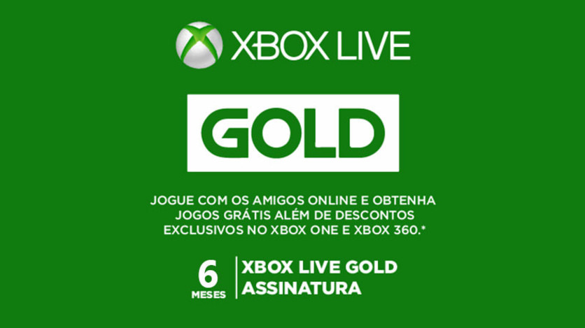 Screenshot 1 - Xbox Live 6 Months - Digital Gift Card