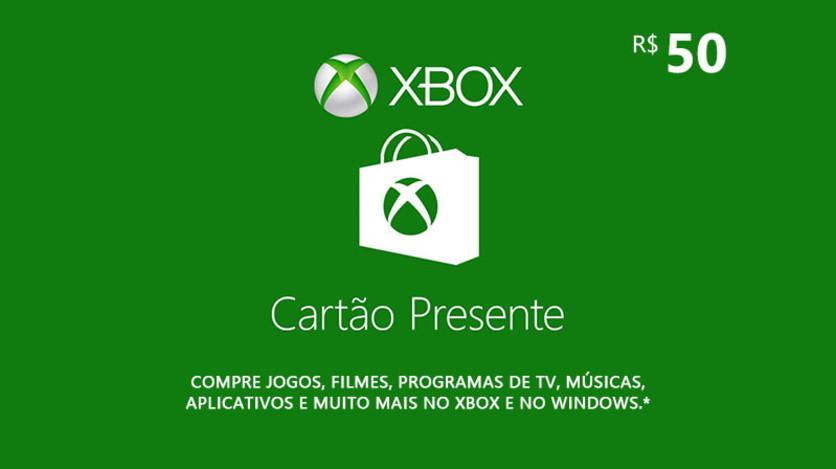 Screenshot 1 - Xbox - Digital Gift Card 50 Reais