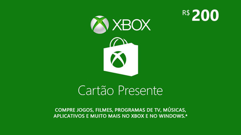 Screenshot 1 - Digital Gift Card 200 Reais