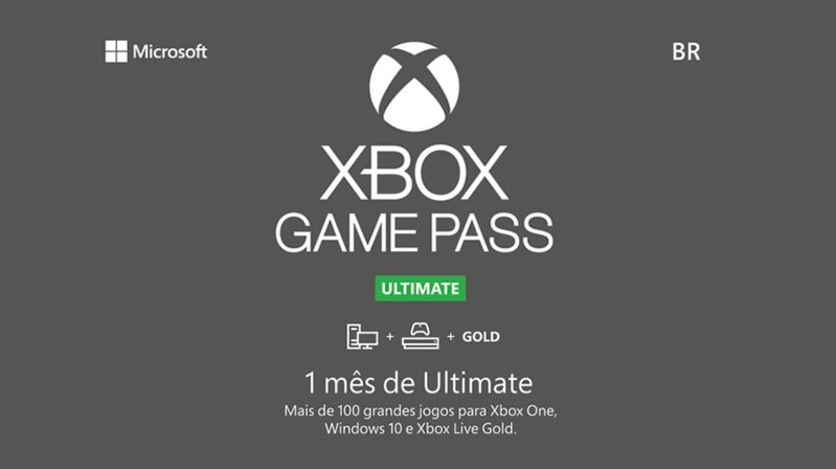 Screenshot 1 - Xbox - Game Pass Ultimate - Digital Gift Card 1 Month