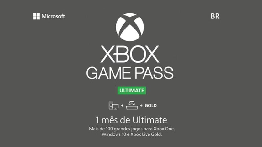 Screenshot 1 - Xbox - Game Pass Ultimate - Digital Gift Card 1 Month