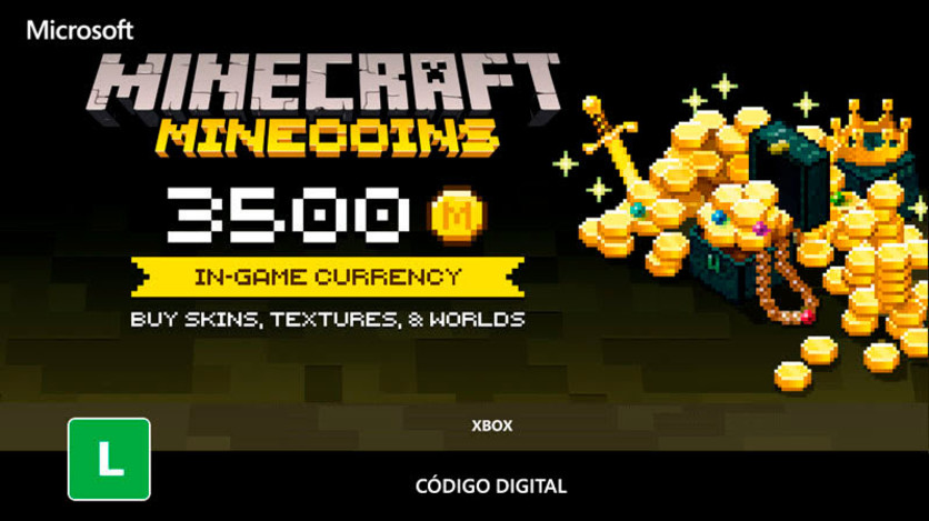 Screenshot 1 - Minecoins - 3500 Coins