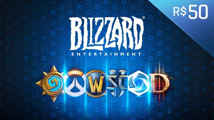 Screenshot 1 - Blizzard - Gift Card Digital 50 Reais