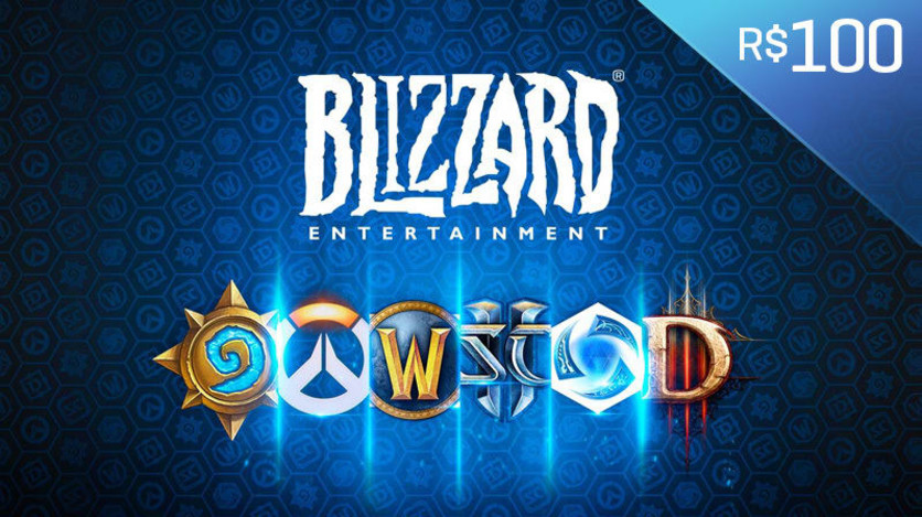 Screenshot 1 - Blizzard - Gift Card Digital 100 Reais